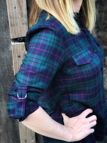 Through The Woods Plaid