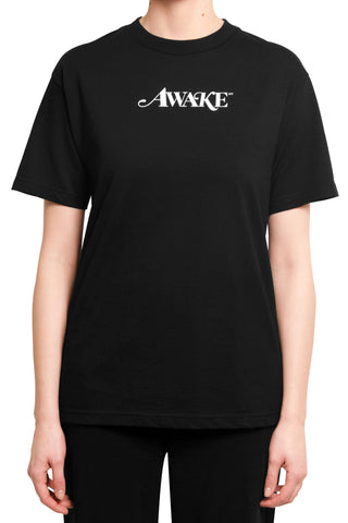 Awake Logo T-Shirt Black