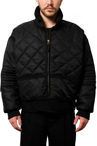 "032c WWB ""Chevignon by 032c"" Cosmo Jacket Black - 032c"