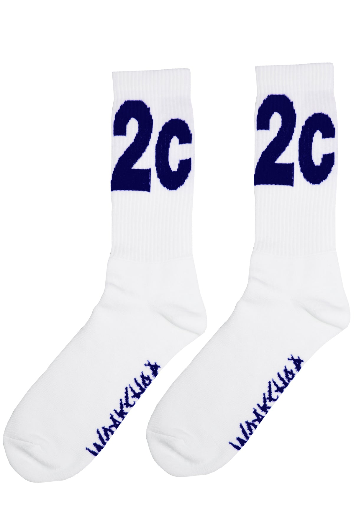 032c WWB 'MAX' Socks White/Navy - 032c