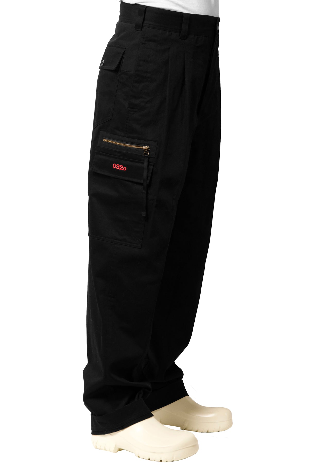 "032c WWB ""Chevignon by 032c"" Hunting Pants Black - 032c"