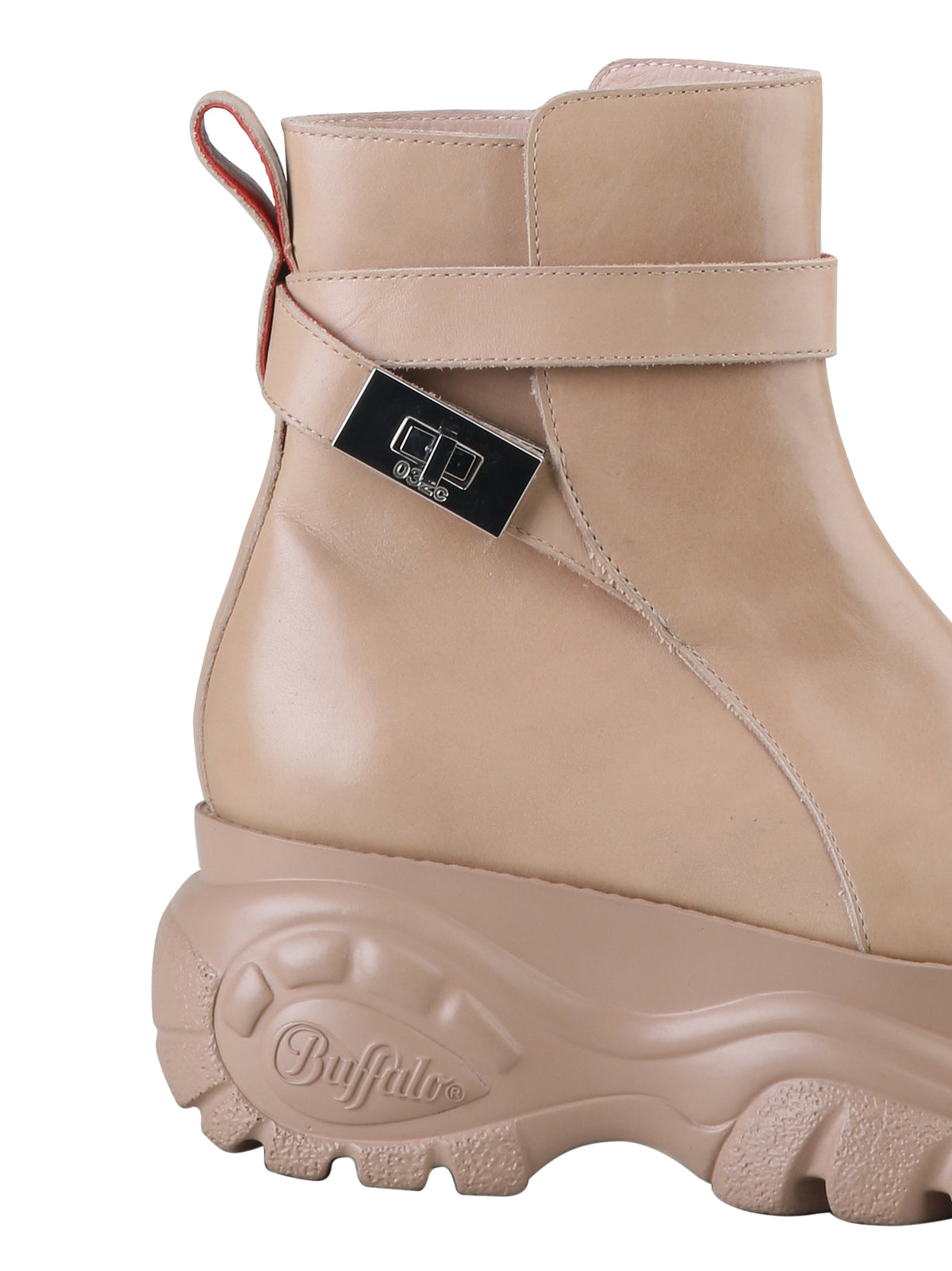 Buffalo by 032c Jodhpur Ankle Boot Nude - 032c