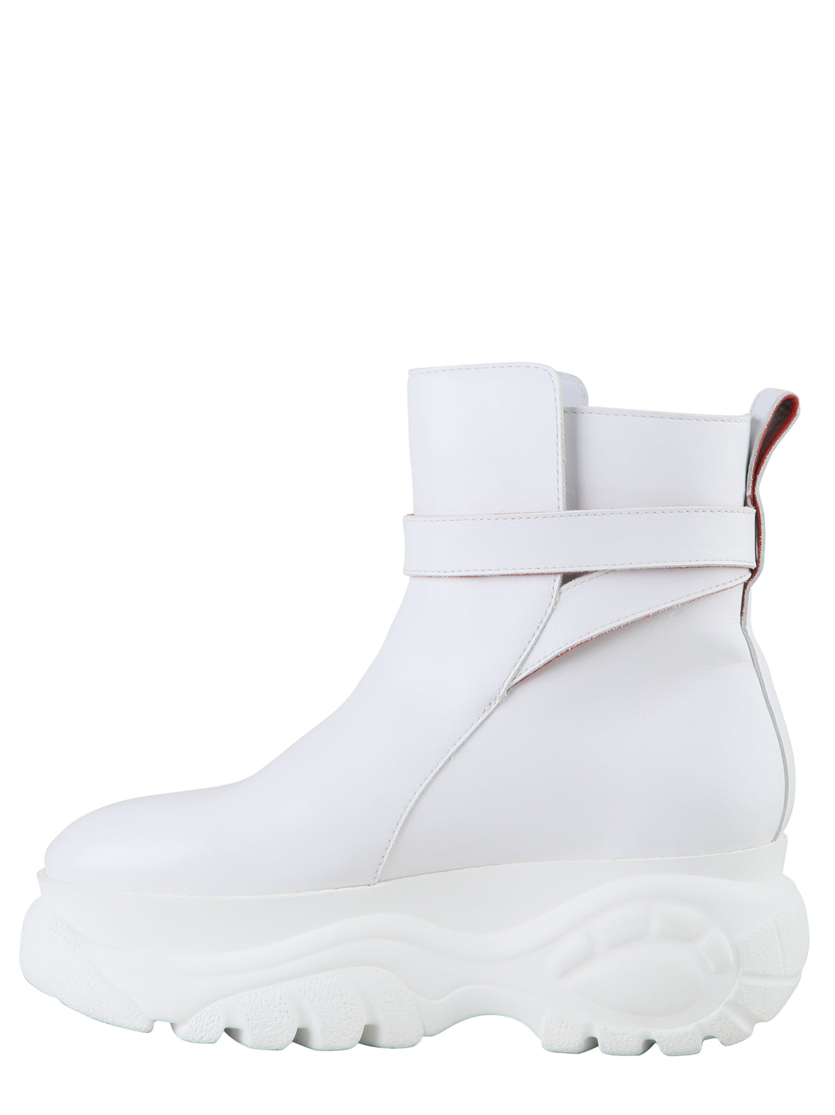 Buffalo by 032c Jodhpur Ankle Boot White - 032c