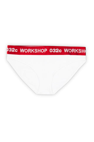 032c Classics Women's Brief White - 032c