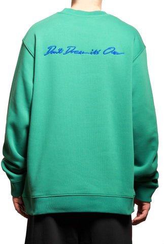 Don't Dream It's Over Sweatshirt Green - 032c