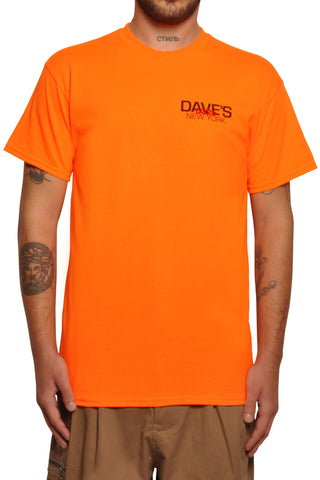 032c x Dave's NY T-Shirt Neon Orange - 032c