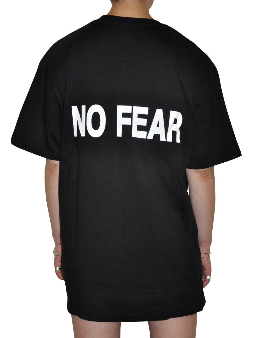 Freedom Machine 1 — NO FEAR T-Shirt Black - 032c