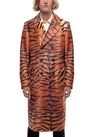 SSS World Corp Shane Tiger Velvet Coat