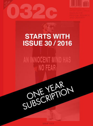 One Year Subscription (Issues 30 & 31)
