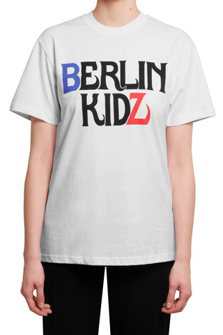 032c BERLIN KIDZ Crew Shirt White