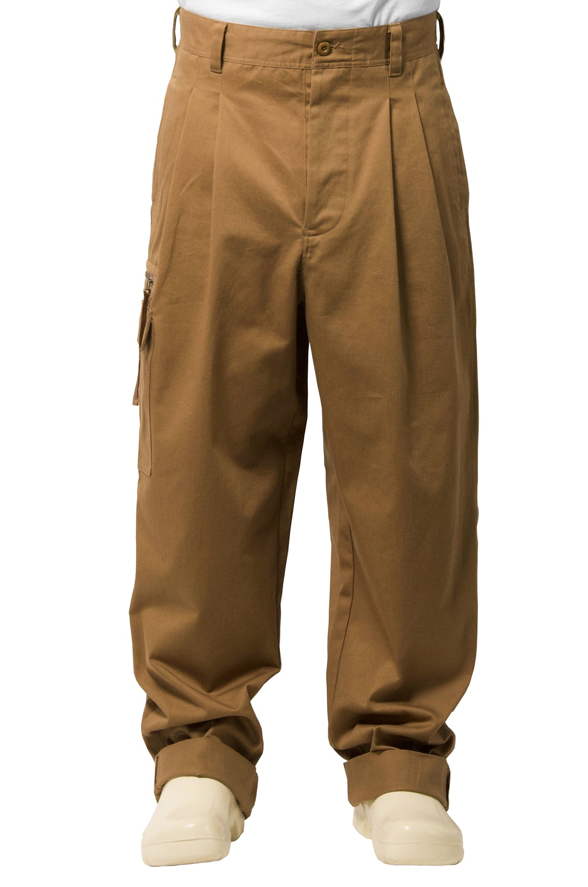 "032c WWB ""Chevignon by 032c"" Hunting Pants Beige - 032c"