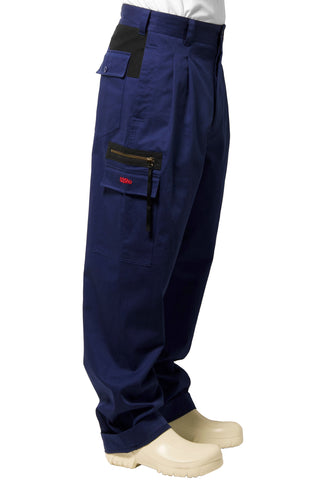 "032c WWB ""Chevignon by 032c"" Hunting Pants Blue - 032c"
