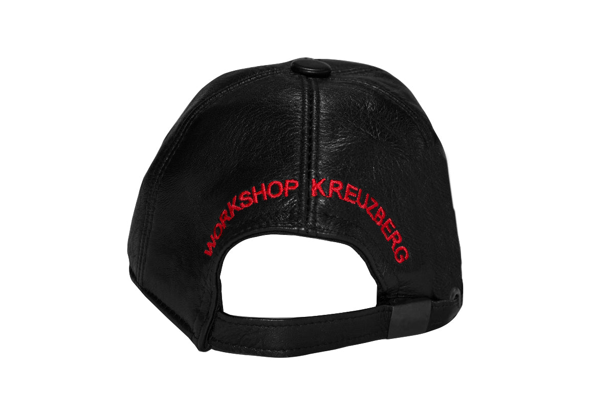 032c WWB Cap Black Leather - 032c