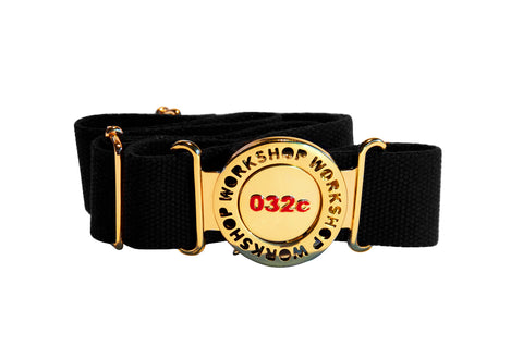 032c WWB Brooch Belt Black