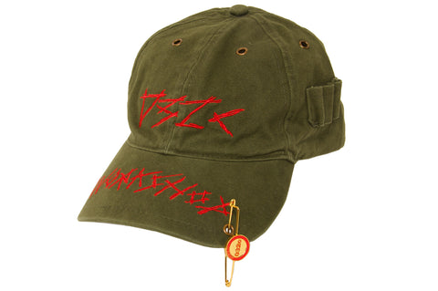 032c WWB Cap Washed Hunter's Green