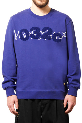 032c WWB Believer Sweatshirt Blue - 032c