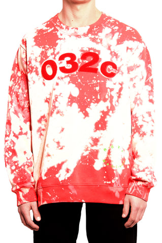 032c Peroxide Red Believer Sweatshirt - 032c