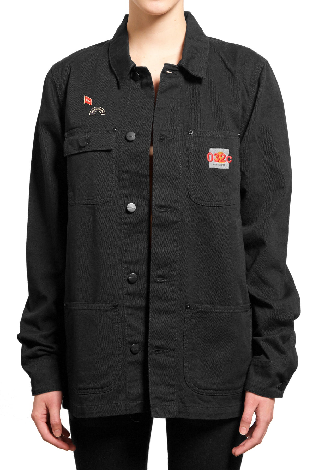 "032c ""EDITED CARHARTT JACKET"" Black - 032c"