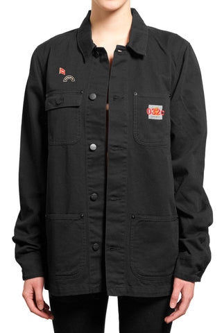 "032c ""EDITED CARHARTT JACKET"" Black"