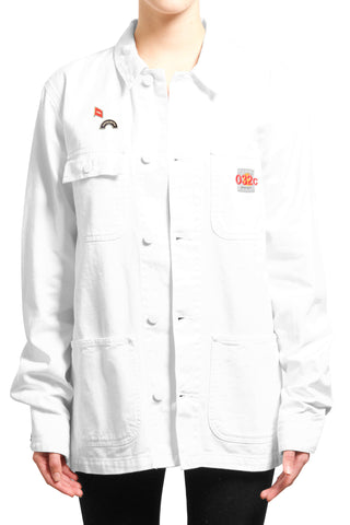 "032c ""EDITED CARHARTT JACKET"" White - 032c"