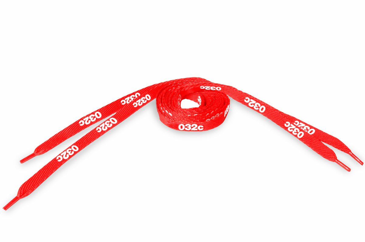 DIY Branding Kit #3: 032c Laces Red - 032c