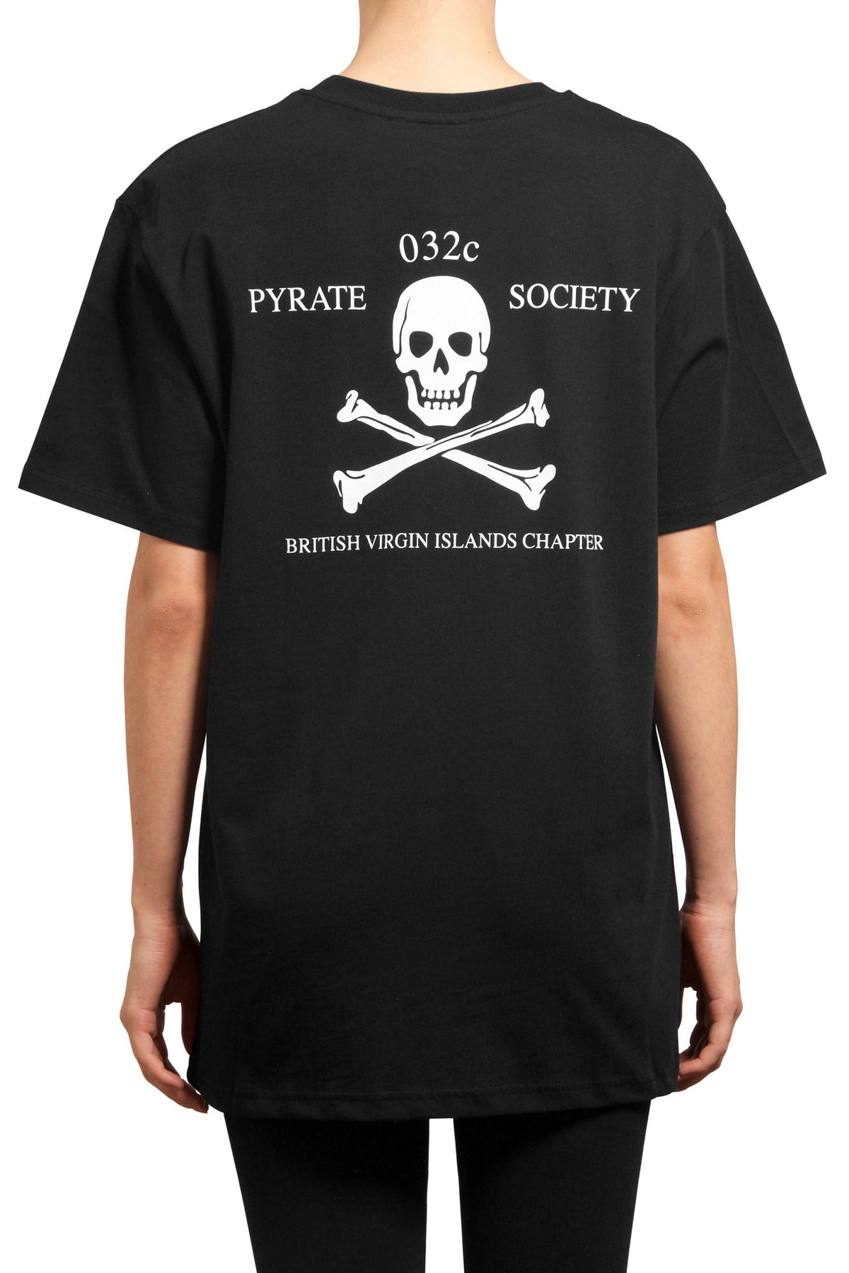 032c Pyrate Society T-Shirt Black - 032c