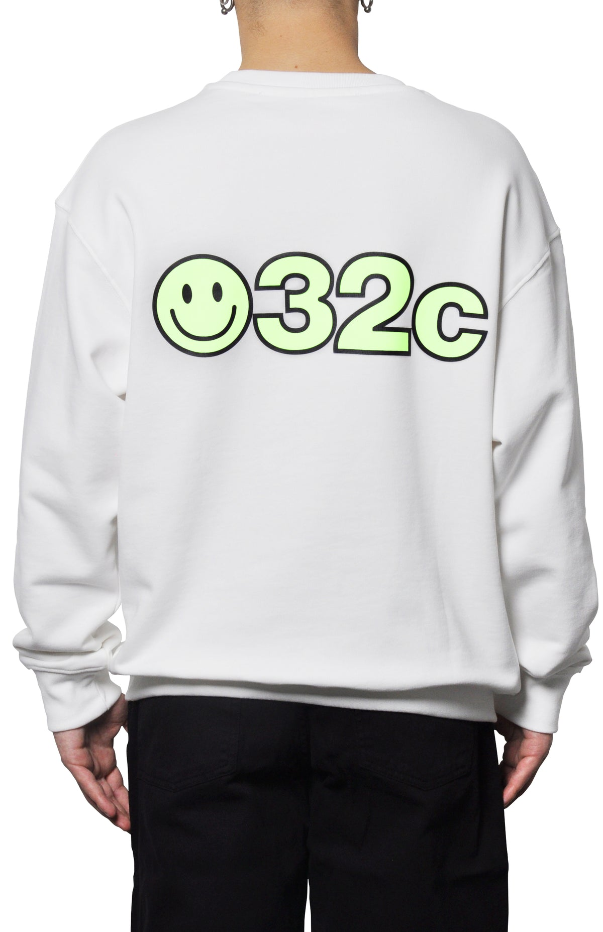 032c SMILEY Glow-in-the-dark Sweatshirt - 032c