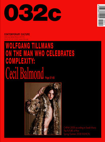 Issue #14 — Winter 2007/2008: Cecil Balmond - 032c
