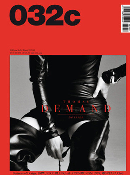 Issue #18 — Winter 2009/2010: Thomas Demand - 032c