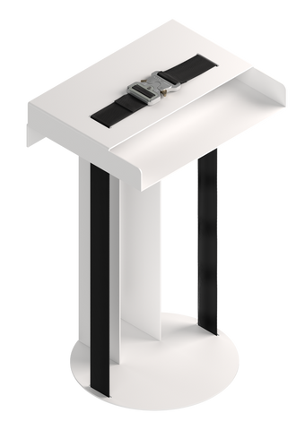 Alyx x New Tendency Meta Side Table White - 032c