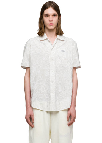 "032c Système de la Mode ""Topos"" Nylon Short Sleeve White"