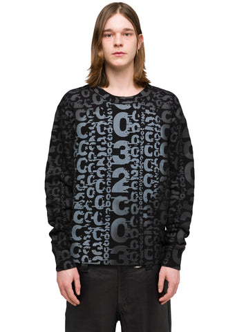 032c Système de la Mode Heat Sensitive Print Pullover