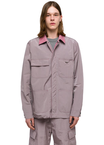 "032c Système de la Mode ""Heat Patch"" Nylon Worker Jacket Grey Purple"