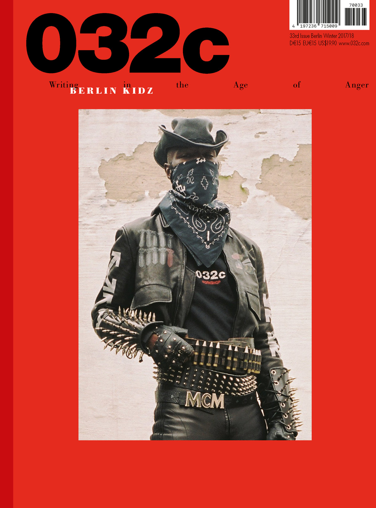 Issue #33 — Winter 2017/2018: Berlin Kidz - 032c