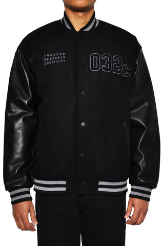 "032c LoveSexDreams ""Team Société"" Varsity Jacket - 032c"