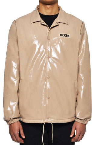 "032c LoveSexDreams ""IDEAL"" Coach Jacket Beige"