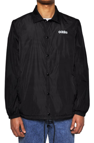 "032c LoveSexDreams ""Picabia"" Coach Jacket Black - 032c"