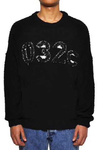 032c LoveSexDreams Terry Knit Logo Pullover