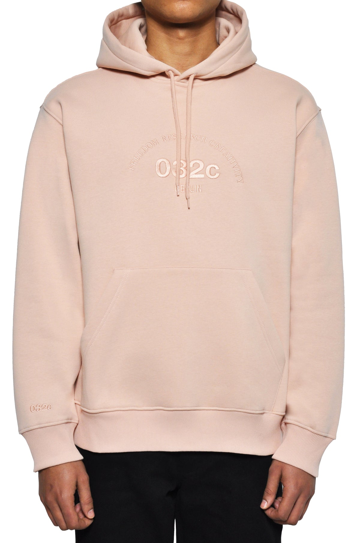 "032c LoveSexDreams ""Team Société"" Hoodie Beige - 032c"