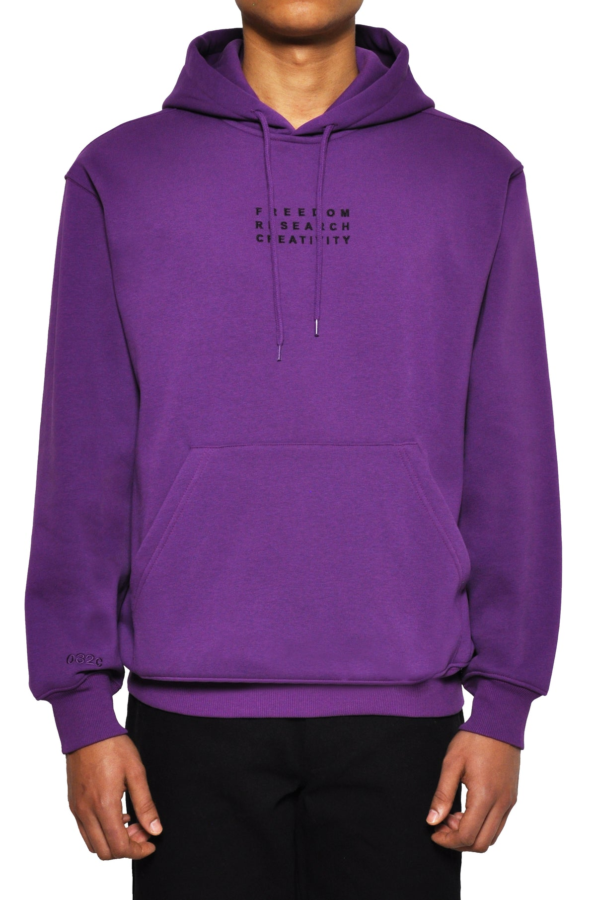 "032c LoveSexDreams ""Team Société"" Hoodie Purple - 032c"
