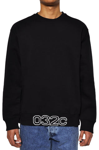 "032c LoveSexDreams ""032c Workshop"" Crewneck Black"