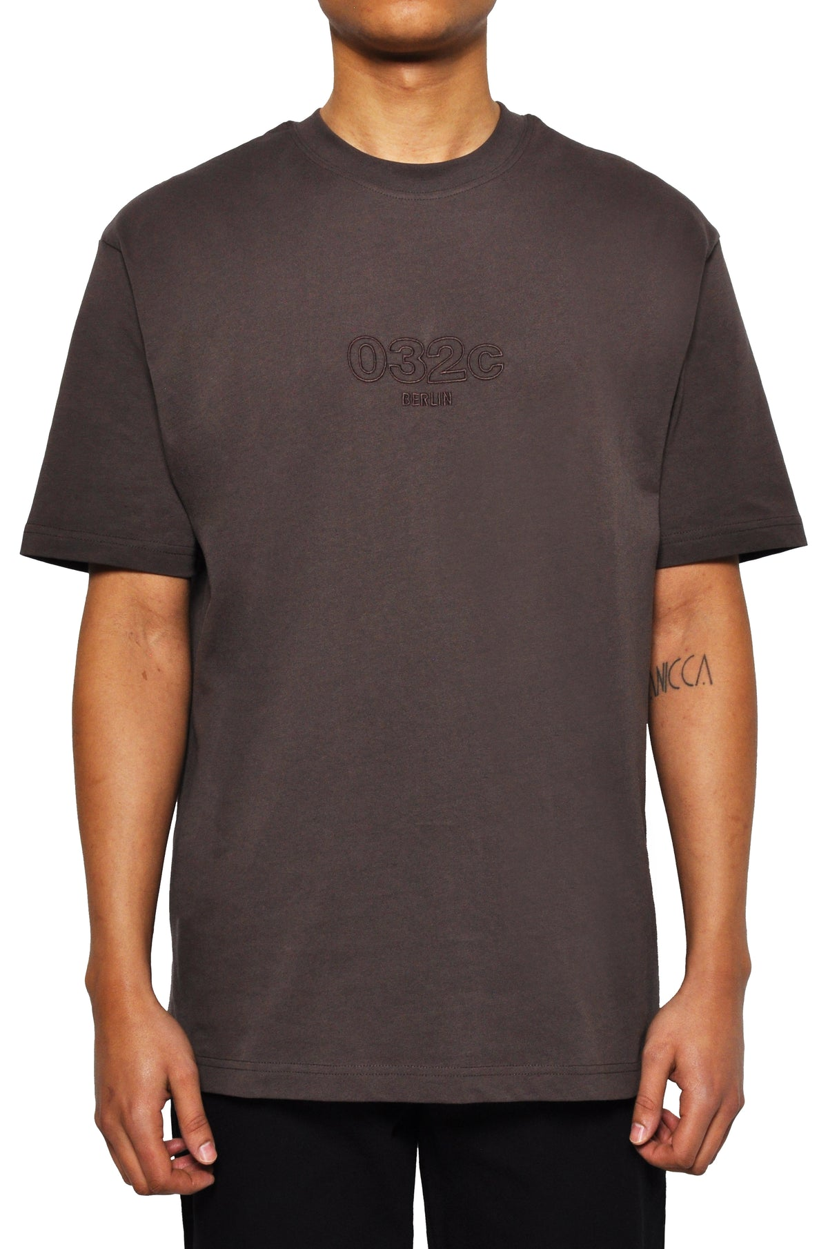 "032c LoveSexDreams ""2"" T-Shirt Brown - 032c"
