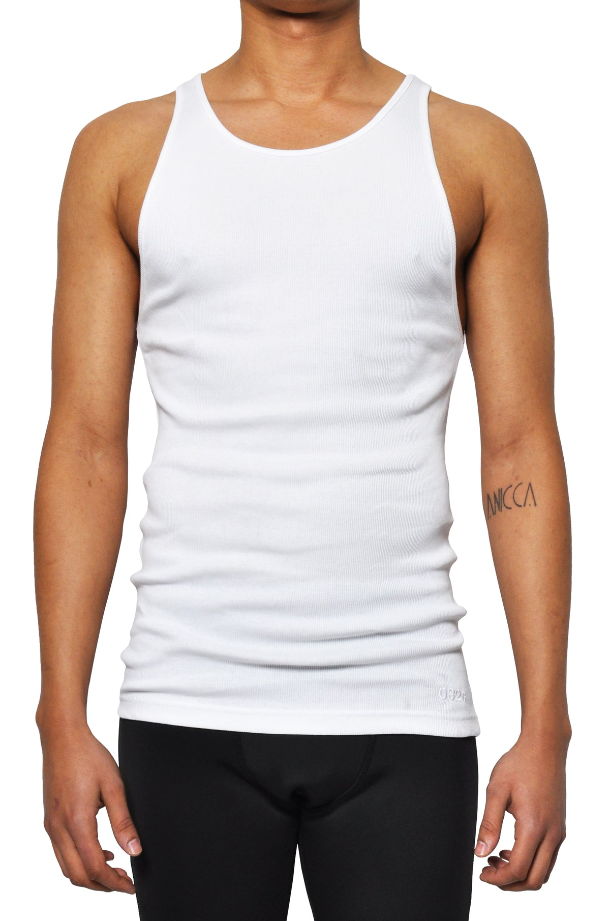 032c LoveSexDreams Ribbed Tank White - 032c