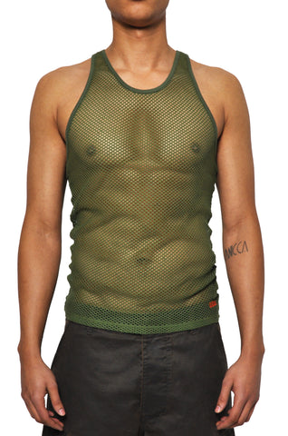 032c LoveSexDreams Net Tank Olive - 032c