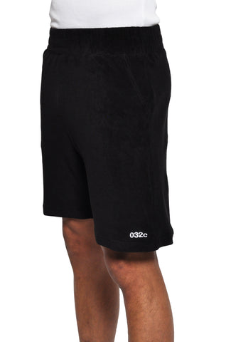 032c LoveSexDreams Terry Shorts Black - 032c