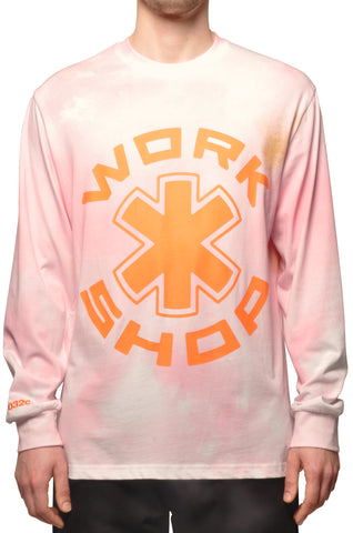 "032c COSMIC WORKSHOP ""Atomic"" Longsleeve Pink - 032c"