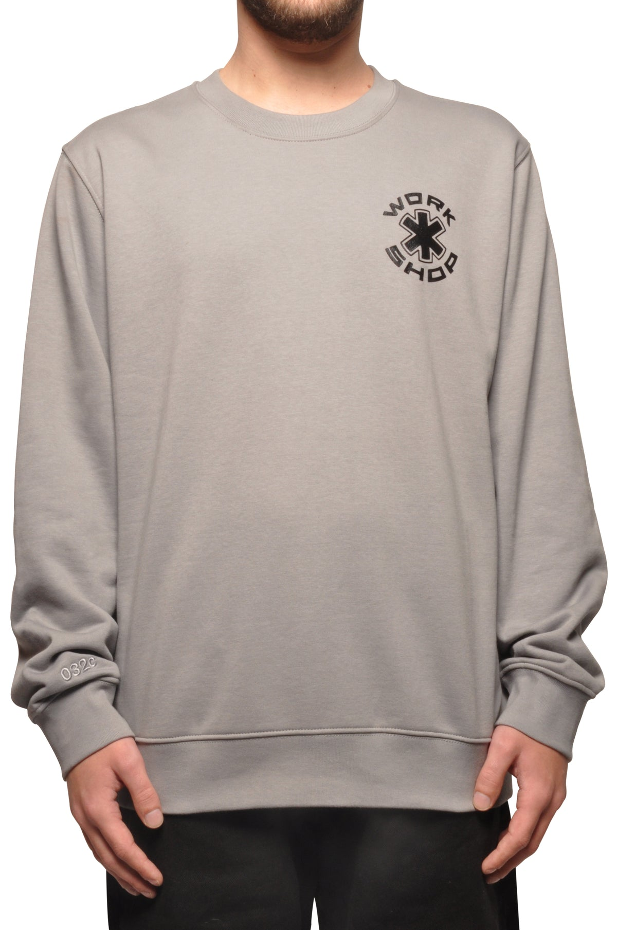 032c COSMIC WORKSHOP Sweatshirt Grey - 032c