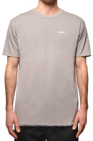 032c COSMIC WORKSHOP Reversible T-Shirt Grey - 032c