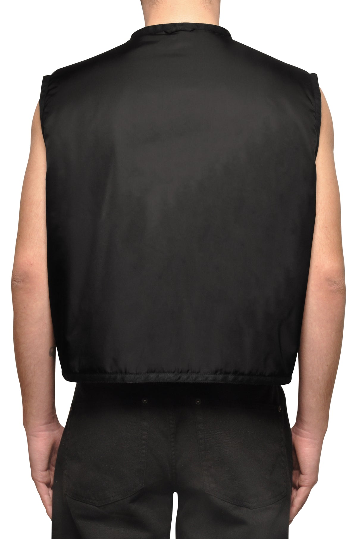 032c COSMIC WORKSHOP 'Rock Bottom' Vest Black - 032c