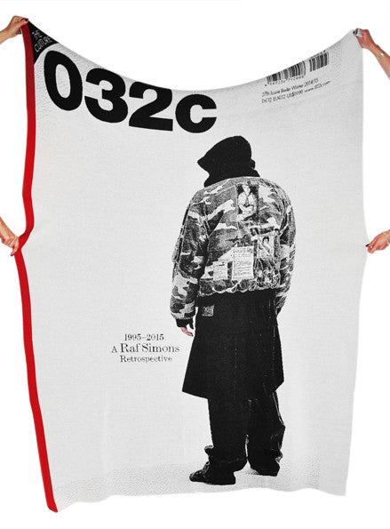 Under the Covers: RAF SIMONS - 032c